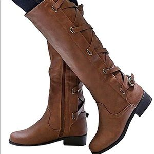 Shoes - Lace Up Riding Boots
